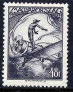 HUNGARY 1933 Airmail 48 F.. LHM / *.  Michel 506 - Hungary