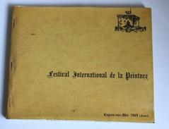 Catalogue Rare Premier Festival International Peinture 1969 Cagnes Sur Mer 5000 Exemplaires - Art