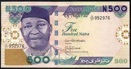 "NIGERIA 500 Naira 2015 VF-EXF P-30 ""free Shipping Via Regular Air Mail (buyer Risk)"" - Nigeria"