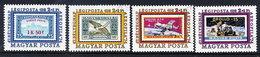 HUNGARY 1974 AEROFILA '74 Singles From The Block Usd. Michel 2990-93 - Hungary