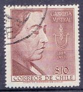 CHILI- 1958 Mi Nr. 526 - YT Nr. 267 - Sn: 300 - USED- ° - Chili