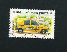 N° 3612 Utilitaires Et Grandes échelles  Voiture Postale   France Timbre Oblitéré 2003 - France