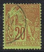 COLONIES GENERALES N°52 Oblitération De Morne-à-l'Eau