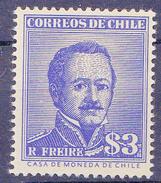 CHIL I-  1956 - YT Nr.265 - Mi Nr. 508x - * - Chili