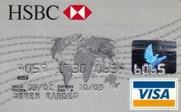 TURKEY-HSBC-VISA-CARD - Carte Di Credito (scadenza Min. 10 Anni)