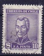 CHIL I-  1956 - YT Nr.262 - Mi Nr. 518  - ° - Chili
