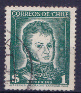 CHIL I-  1952- YT Nr.232 - Mi Nr. 453 - ° - Chili
