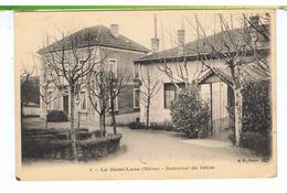CPA-69-LA-DEMI-LUNE-LE RESTAURANT DES DELICES- - France