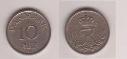 Dänemark , 10 Öre , 1957 ( G.Schön 58 ) - Dänemark