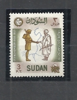 SUDAN  1959 Military Coup D'etat By General Ibrahim Abboud HINGED - Sudan (1954-...)
