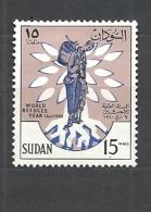 SUDAN 1960 World Refugee Yea   HINGED - Sudan (1954-...)