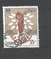 SUDAN 1960 World Refugee Year USED - Sudan (1954-...)