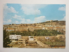 Postcard Partial View Nazareth Israel  Postally Used 1966 By Palphot My Ref B2291 - Israel