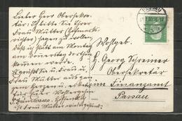 97t * DEUTSCHES REICH * KARTE INNERHALB PASSAUS * 1930 **!! - Briefe U. Dokumente