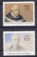 PORTUGAL1990. VULTOS DAS LETRAS EM PORTUGAL .NOVOS SEM CHARNEIRA   AFINSA Nº 1951/52 .SES465GRANDE - 1910-... República