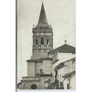 HLVTP7248CPA-LFTD12760TARI.Tarjeta Postal DE HUELVA.Calles ,iglesia Y Casas.TORRE DEL CAMPANARIO En VALVERDE DEL CAMINO - Iglesias Y Catedrales