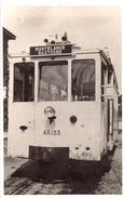 Martelange Bastogne Sncv  Tram Vicinal Ar 133 Photo Carte 9x14 - Martelange
