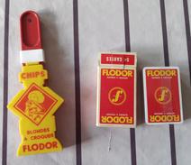 Laclac Modele Depose Molo Flodor - Jeu De 54 Cartes Flodor Sous Film Plastique Le Lot De 3 Pieces - Otros