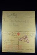 Italy:  Italian Prisoner Of War WW I Complete Card With Answer Card Austria Wien 1917 - Ganzsachen