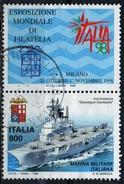 """PIA - ITA - 1998 : Esposiz. Mondiale Di Filatelia """"Italia 98"""" :Giornata Delle Forze Armate - Marina Militare (SAS 2373) - 1946-.. République"""
