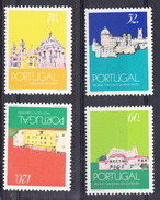 PORTUGAL1990.PALACIOS NACIONAIS  . AFINSA Nº 1968/71.NOVOS SEM CHARNEIRA  .SES465GRANDE - 1910-... República