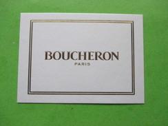 BOUCHERON - Carte Parfumée - Modern (from 1961)