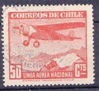 CHILI-  1942 -  YT Nr. PA57 - Mi Nr. 264 - USED - ° - Chili