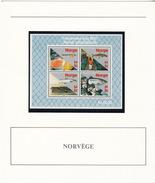 NORVEGE - BLOC 1987 MNH**  - FRIMERKETS DAG 1987 NORSK ARBEIDSLIV III - DOCUMENT DE LA POSTE