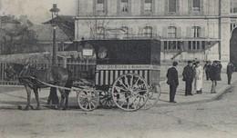 CPA 80 AMIENS La Gare Du Nord Taxi DUBOIS à Renancourt Chemin De Fer Du Nord - Amiens