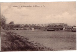 DIGOIN: Le Nouveau Pont Du Chemin De Fer - Digoin