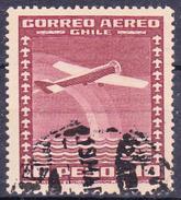 CHILI-  1934 -  YT Nr. PA45  - Mi Nr. 215 - USED - ° - Chili