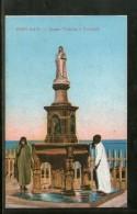 Egypt Port Said Queen Victoria Fountain View / Picture Post Card # PC097 - Andere