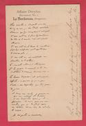 Affaire Deyfus - Document N° 1 - Le Bordereau - 1899 ( Voir Verso ) - Personnages