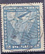 CHILI-  1934 -  YT Nr. PA39  - Mi Nr. 209 - Sn  C40 -  USED - ° - Chili