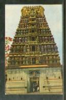 India Mysore Sri Chamudeswari Temple Religion View / Picture Post Card # PC111 - India