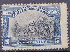 CHILI-  1910 - YT 74 - Mi. Nr. 82 - Sn 86 - USED - ° - Chili