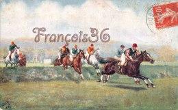 Illustration - Course De Chevaux équitation Hippisme Cheval Chevaux Horses Horse Tuck Jockey - Horses