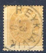 #Iceland 1882. Michel 12A. Used - Oblitérés
