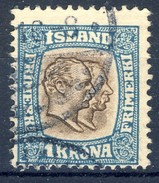 #Iceland 1907. Michel 60. Used - Usados