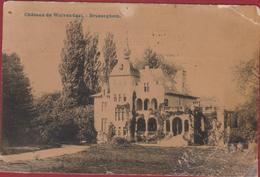 Brussegem 1911 Merchtem - Château De Wolvendael - Brusseghem (beschadigd) Geanimeerd - Merchtem