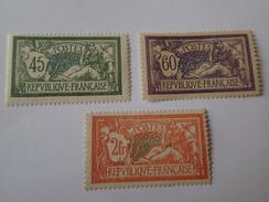 Merson N° 143/145**.  Cote 272€. - Unused Stamps