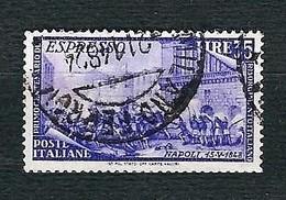 ITALIA 1948 - Espresso - Centenario Del Risorgimento - 35 L. Violetto - Sa E32 - 1946-60: Usati