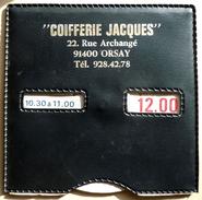 """Disque De Stationnement """" COIFFERIE JACQUES """" 91400 ORSAY - Publicités"""