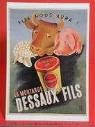 Cartes Postales > Thèmes > Publicité > La Moutarde Dessaux Fils 1938 - Non Circulé - Publicité