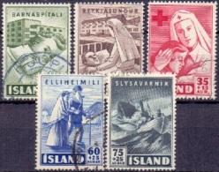 Jsland 1941-50 Weldadigheid GB-USED. - 1944-... Republik