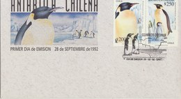 CHILI 1992 FDC With Penguins