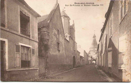 DUN-sur-AURON - Rue St-Vincent Et Maison Charles VII - Dun-sur-Auron