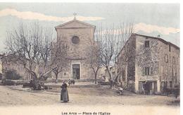 83 / LES ARCS / PLACE DE L EGLISE  / EDIT CAUVIN / ETAT NEUF - Les Arcs