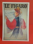 Cartes Postales > Thèmes > Publicité > Le Figaro, Simonidy 1870-1933 - Non Circulé - Publicité