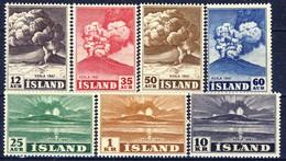 #G1813. Iceland 1948. Vulcano Hekla. Michel 247-53. MNH(**) - 1944-... Republic